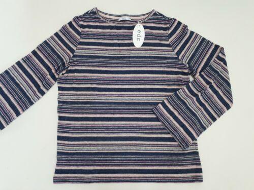 edc by Esprit dünner Pulli Shirt flauschig weich Größe M oversized Mehrfarbig