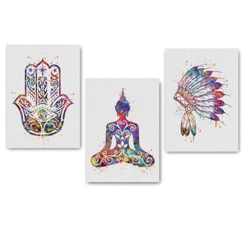 Canvas Poster Abstract Minimalist Art Tribal Print Modern Home Living Room Decor