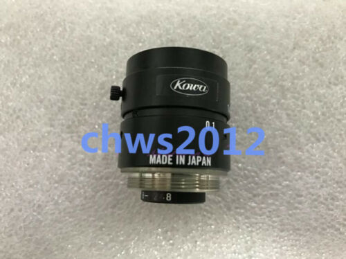 1PC Kowa f=8mm//F1.4 lens in good condition  #2012
