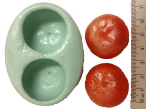 Candle Silicone Soap Mold // Mould MELT /& POUR Plaster 2 Resin ORANGES GUEST