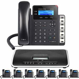 Business-IP-Phone-System-8-Grandstream-Starter-Package-Free-Phone-Service-1-Year