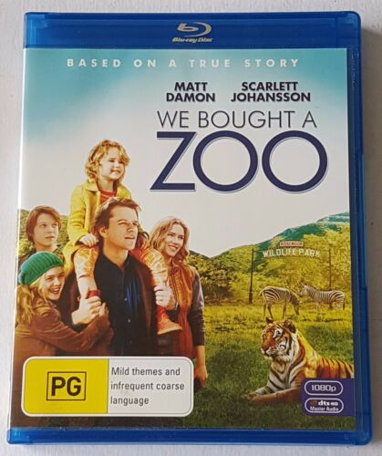1 of 1 - We Bought A Zoo Blu-ray, 2012 (#BRD00178)