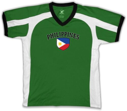 Philippines Flag Crest Filipino National Country Pride Retro Sport T-shirt