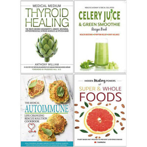 Details about Medical Medium Thyroid Healing, Super & Whole Foods 4 Books  Collection Set NEW