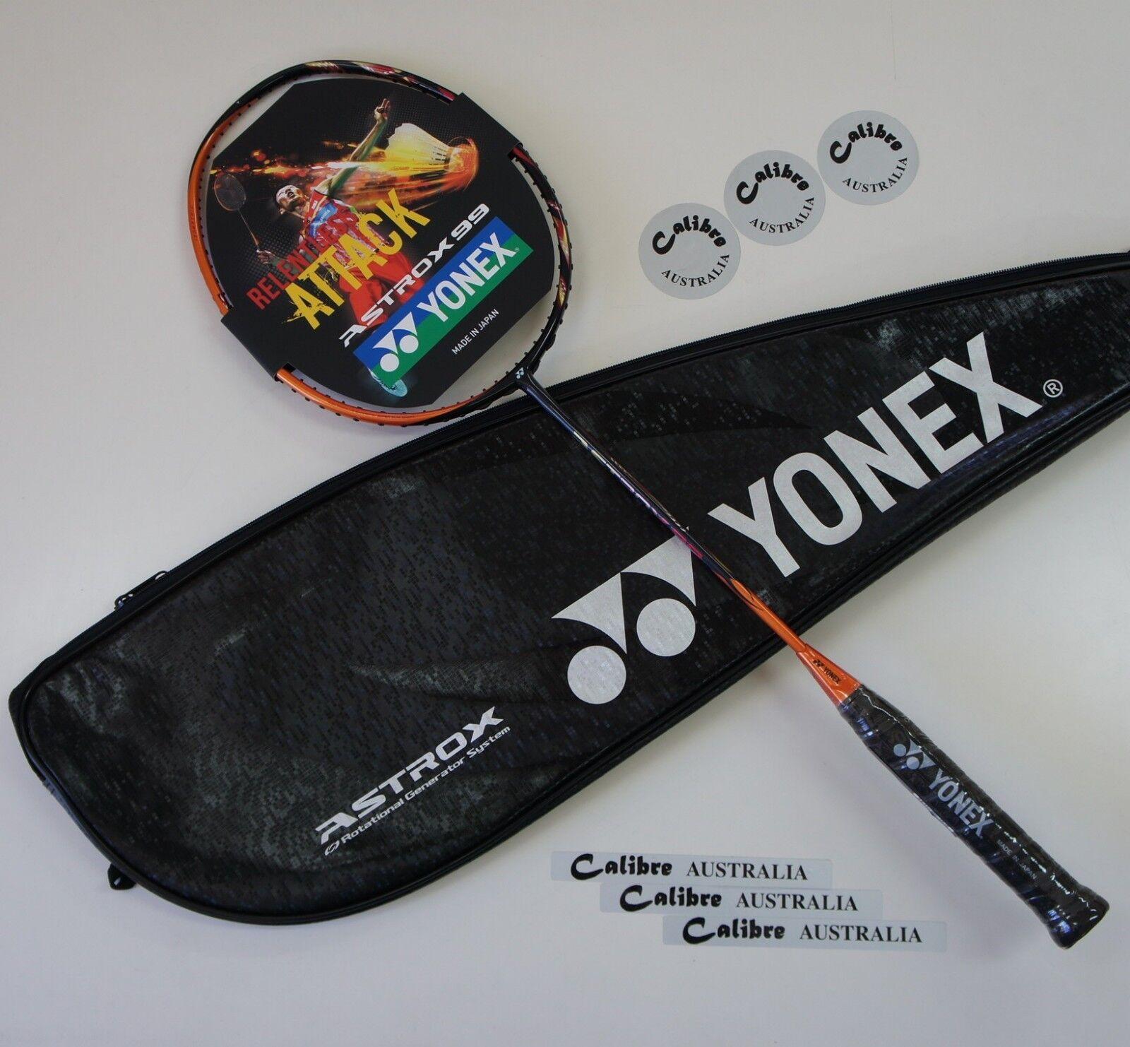 YONEX ASTROX 99 Badminton Racquet AX99, 3UG5, Choice of Tension & String