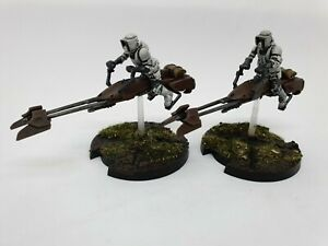 Star-Wars-Legion-74-Z-Speeder-Bikes-unit-expansion-peint-a-la-commande