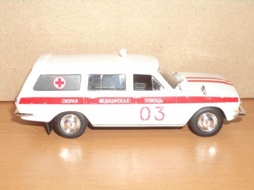 gaz-24-03 autoambulanza 1:43 # 30 Raccolta russa modello di auto di DeAgostini
