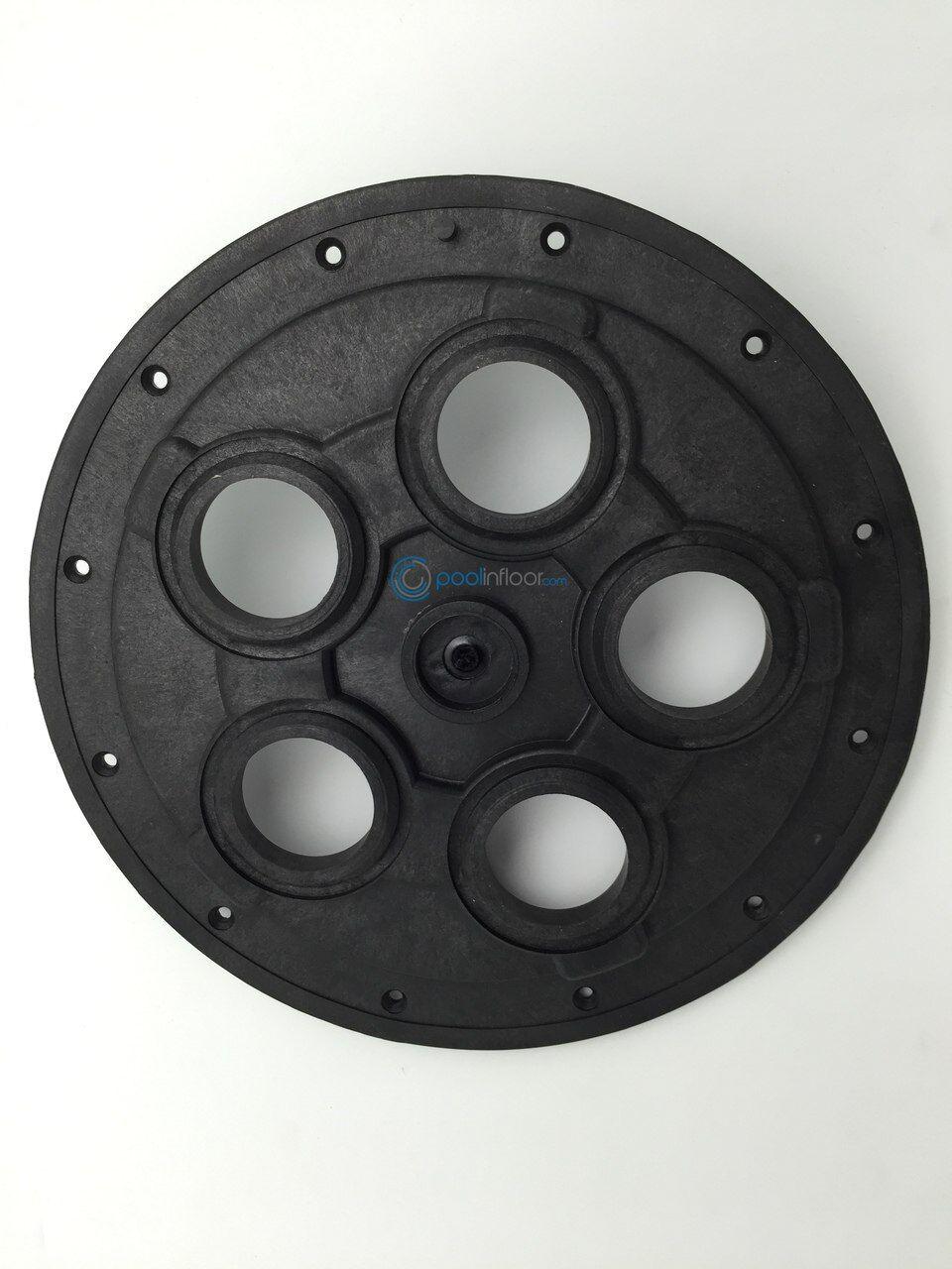 Guardián 99 5-Placa de centro de válvula de limpieza Port piscina (Negro)