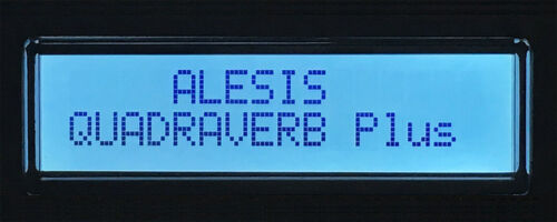 ALESIS QS6 QS7 QS8 SYNTH LCD DISPLAY SCREEN REPLACEMENT LIGHT BLUE 6 7 8