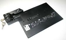 Lenovo IBM Dockingstation Typ 2504 für ThinkPad R60 mit Schlüssel.