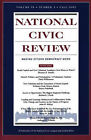 National Civic Review: Social Capital and New Urbanist Design: v. 91, No. 3: Fall 2002 by NCR (National Civic Review) (Paperback, 2002)