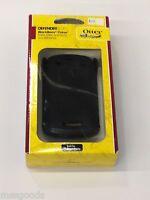 Black Otterbox Case W/belt Clip Defender Blackberry Curve 9350 9360 9370