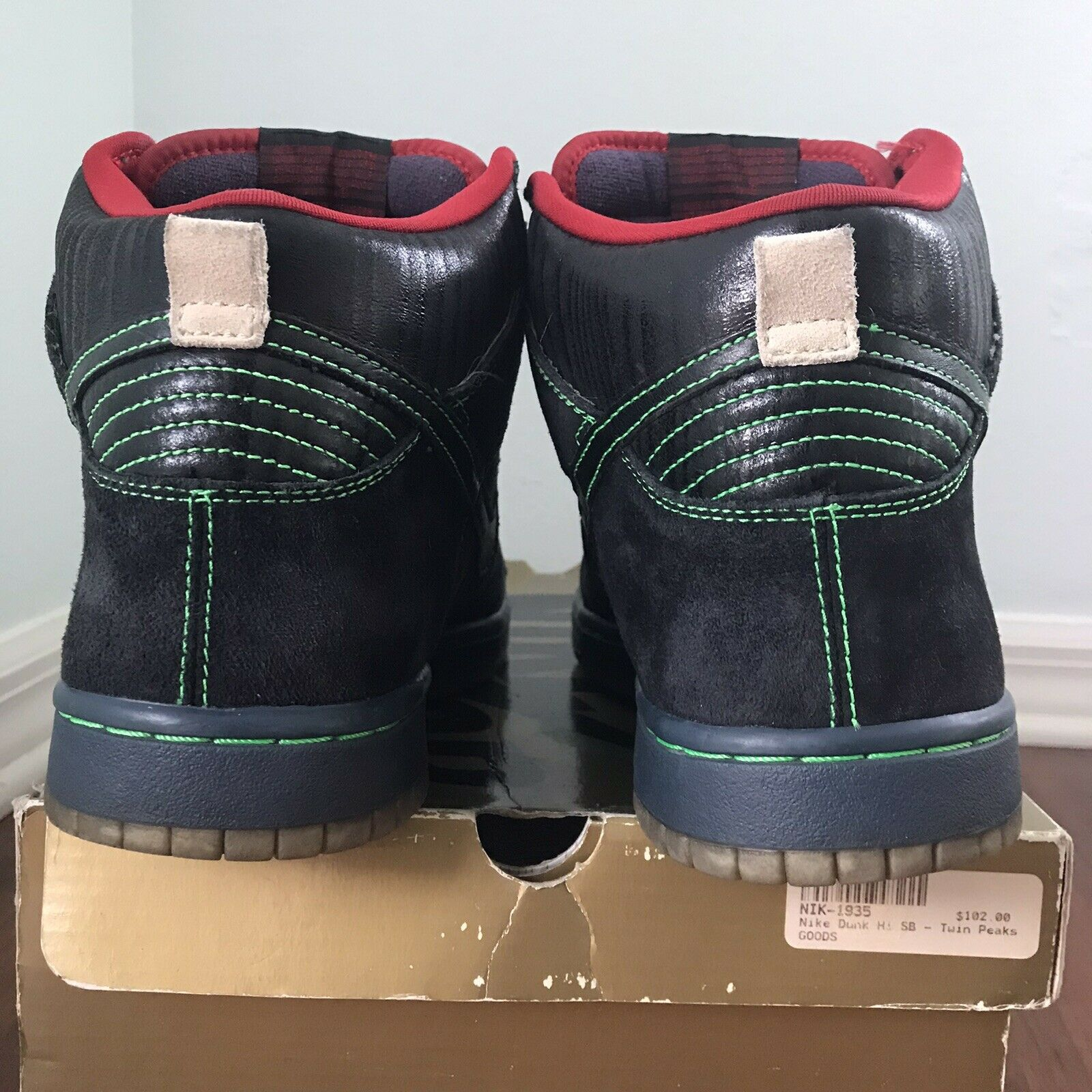 Nike SB Dunk High Twin Peaks Size 9.5 Night Owl - image 8