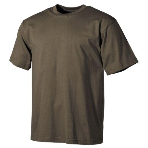 170 g / m2 oliv US T-Shirt NEU Größe M halbarm