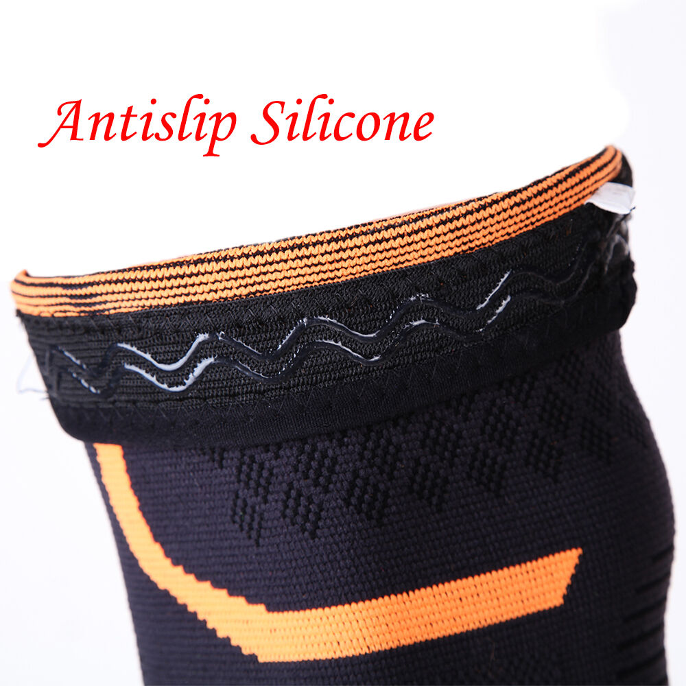 Elastic Knee Pad Wrap Support Brace Sports Arthritis Injury Sleeve Protector AP 2