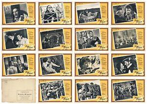 DONNE E BRIGANTI FOTOBUSTE 15 PZ. NAZZARI CHEVRIER MARIO SOLDATI 1950 LOBBY CARD