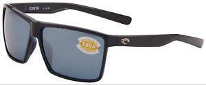 e4b0656aa4 Costa Del Mar Rincon Sunglasses RIN-11-OSGP Shiny Black 580P Grey ...
