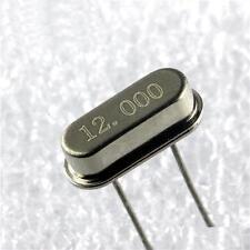 10PCS 12MHz / 12.000 MHZ Crystal Oscillator HC-49S NEW