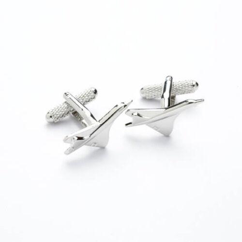 CONCORDE avion avion Design Boutons De Manchette En Boîte Cadeau-onyx-art London ck186