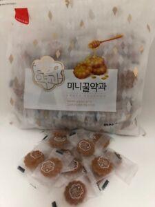 Yakgwa-Samlip-Mini-Honey-Cookie-Korean-Rice-Cakes-Traditional-Snack-Yakwa-1000g