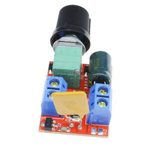 1-2-5PCS-Mini-DC-5A-Motor-PWM-Speed-Controller-Switch-LED-Dimmer-3V-35V