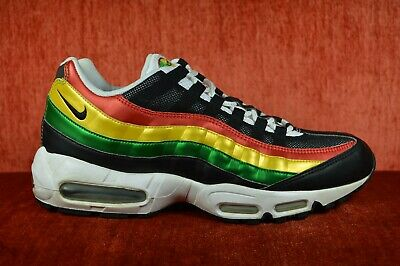 Details about CLEAN 2004 Nike Air Max 95 Jamaica Rasta 306251 102 Size 10.5 VINTAGE Red Green