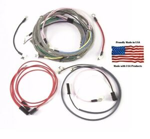 Details about Complete Wiring Harness IH Farmall 140 Tractor SN 2582-26800 on