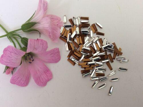SWAROVSKI #4700 Effilé Baguette Keystone Strass 5x2mm Pk 12 cristal de réparation