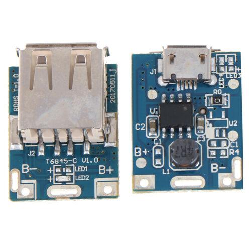 1* Micro USB 5V Lithium Li-ion 18650 Battery Charger Module Board DIY Power AE