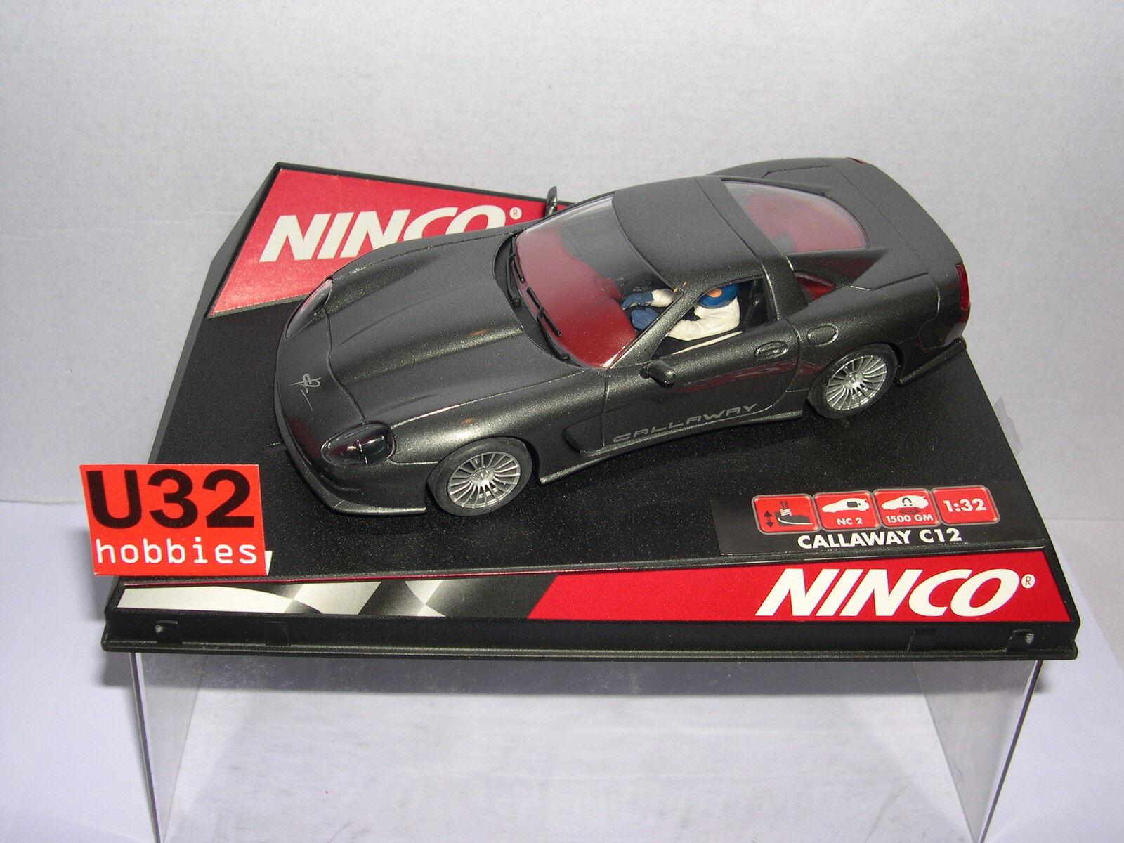 NINCO 50233 CALLAWAY C12 ROAD CAR ANTHRAZIT MB