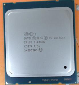 2X Intel Xeon E5-2618L V2 QS 2GHz 6 Core 12 Threads LGA2011 CPU Processor