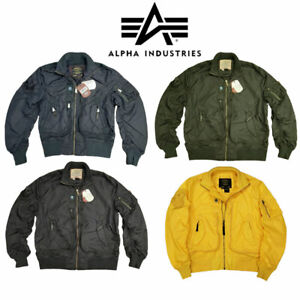 Flight-Jacket-MA1-Light-Military-US-Pilot-Air-Force-Prop-Alpha-Industries-Bomber