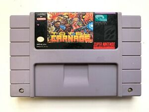 Total-Carnage-SNES-Super-Nintendo-Game-Tested-Working-amp-AUTHENTIC