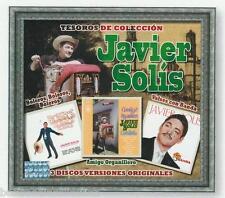 Javier Solis CD NEW Tesoros De Coleccion SET De 3 CDs Rare SEALED