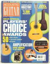 ACOUSTIC GUITAR MAGAZINE PLAYERS CHOICE AWARDS GEAR SPECIAL PRESTON REED RA