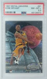 1997-98-Metal-Universe-Kobe-Bryant-81-Lakers-HOF-Graded-PSA-8-5