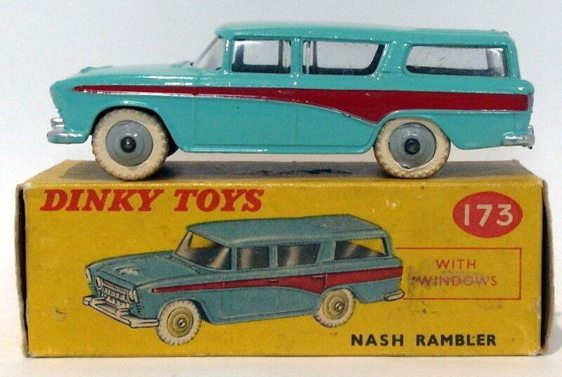 Vintage Dinky 173 - Nash Rambler - Turquoise rot