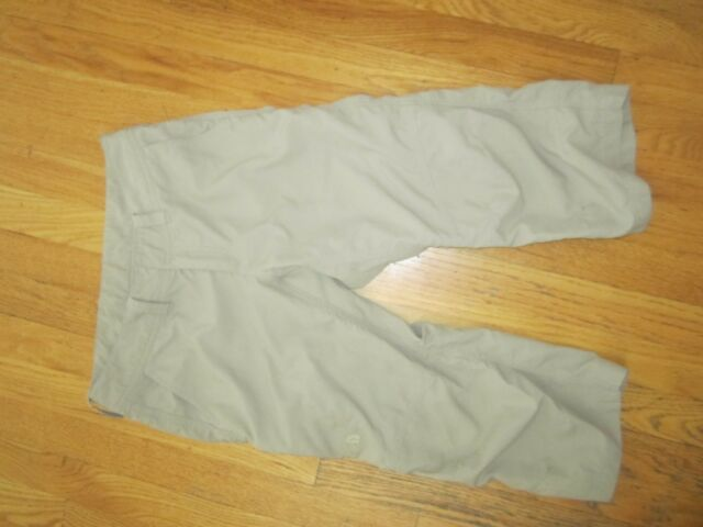Women's The North Face nylon capri pants Sz 4