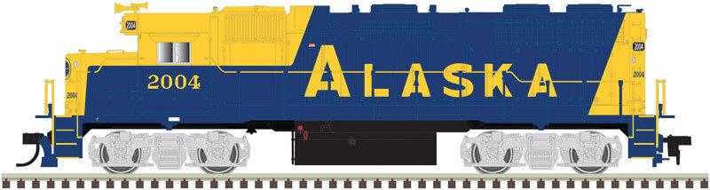 10002411 Atlas EMD GP38 låg Nose w  Sound och DCC - Alaska järnvägroad