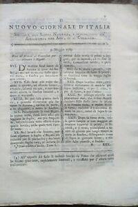 1789-NUOVO-GIORNALE-D-039-ITALIA-SUI-BACHI-DA-SETA-COLTURA-DELL-039-AVENA-ALTISSIMA