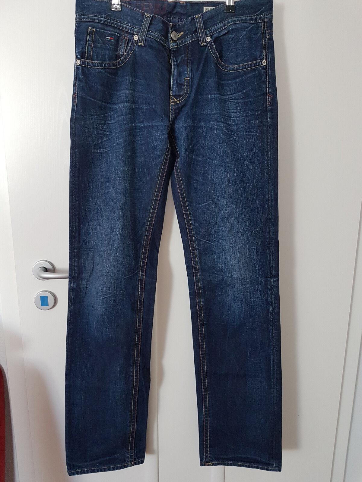 Jeanshose Jeanshose Jeanshose Größe 32 36 Blau  WILSON REGULAR  HILFIGER DENIM dd6c9d