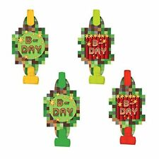 10Pcs Multi Color Party Blowouts Whistles Kids Birthday Party Favors ToyWRD