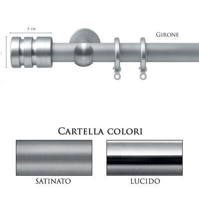 Adaptable Scorritenda Bastone Per Tenda Alluminio Strappo Corda Con Anelli Girone Vami Compleet In Specificaties