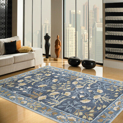 Tufted Antique Style Woolen Area Rugs