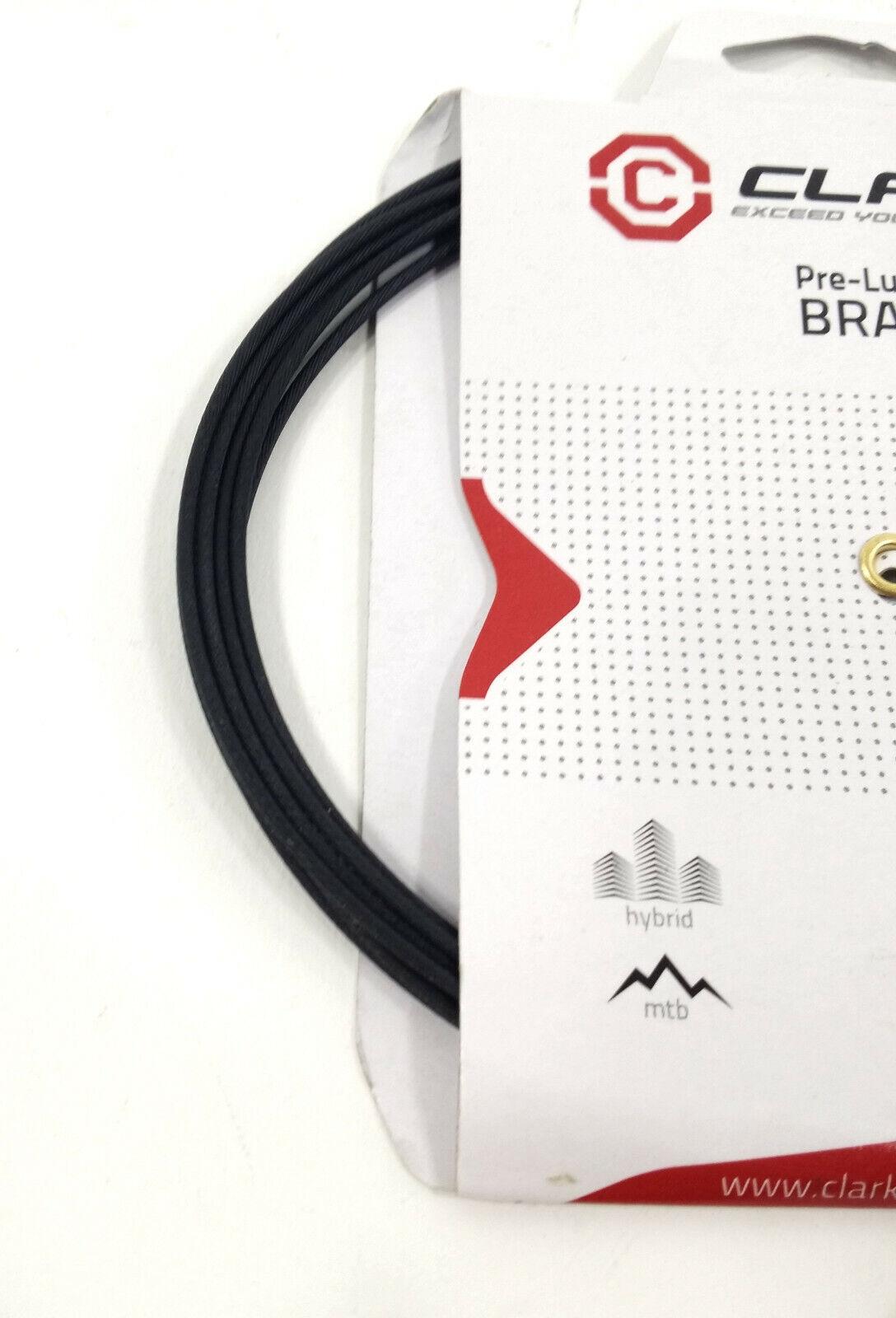 Clarks Galvanized//Teflon Brake Wire Cable Brake Clk Wire Galv//tef 1.5x3060 Univ