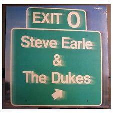 """STEVE EARLE & THE DUKES """"EXIT 0"""" - LP"""