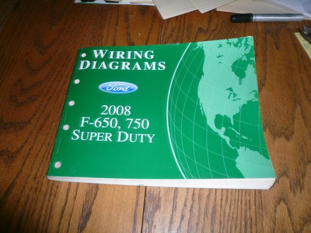 2008 Ford Super Duty F-650 F-750 Wiring Diagrams