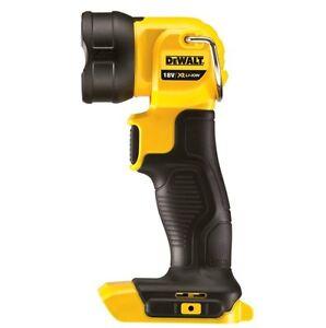 DeWalt-18V-XR-Li-Ion-LED-Work-light-Cordless-Flashlight-Rechargeable-Skin-Only