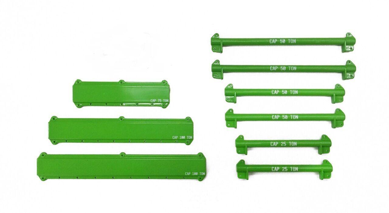 hasta 60% de descuento 121 PC Kit Kit Kit De Elevación Grúa Aparejo & con esparcidor vigas -  verde  - 1 50 - Weiss  barato y de alta calidad