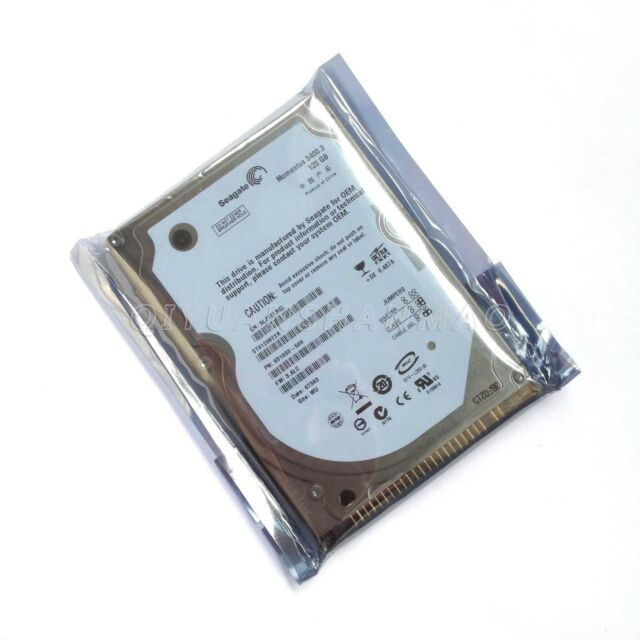 """Seagate 120 GB IDE PATA Interfac 5400RPM 2.5"""" Hard Drive For Laptop Computer HDD"""